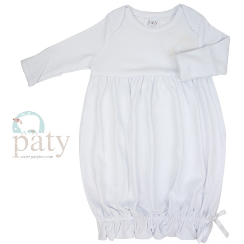 Monogrammed Baby Gown-Home Coming Outfit