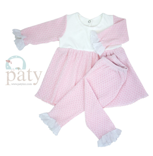 Monogrammed Baby Girl Outfit  By Paty Baby Clothing