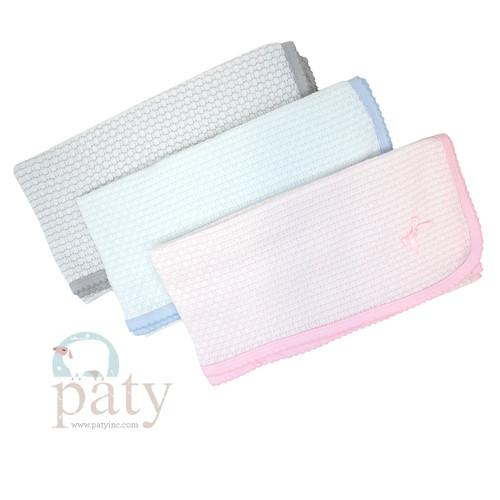 Paty Knit Newborn Baby Blanket
