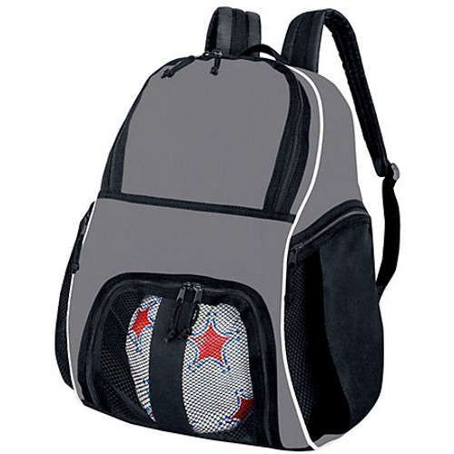 Gray Basketball Backpack personalized Backpack for ball sports,basketball Backpack