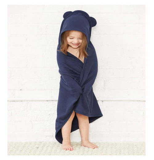 Personalized Hooded Bath Towel with Ears