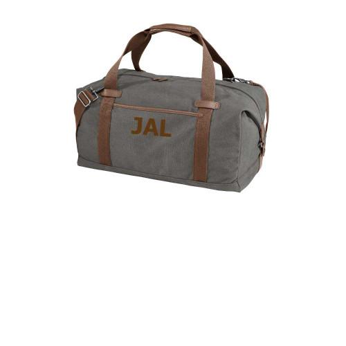 Monogrammed Cotton Duffel Bag