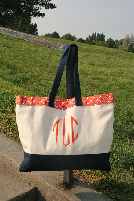 moogrammed Tote large in size