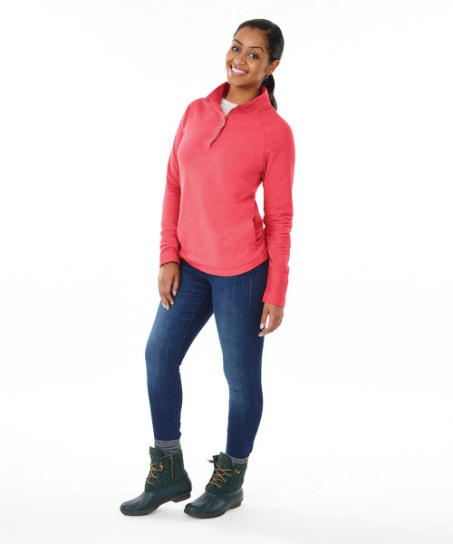Monogrammed Pullover by Charles River