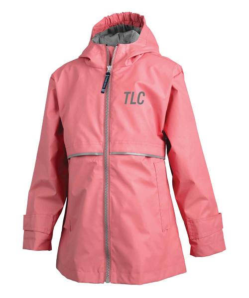 Little Girls New Englander Rain Jacket