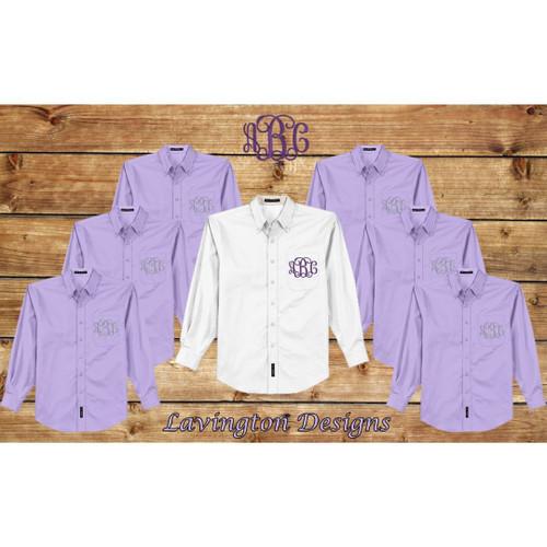 Bridesmaid Oxfords-Lavender 6pk