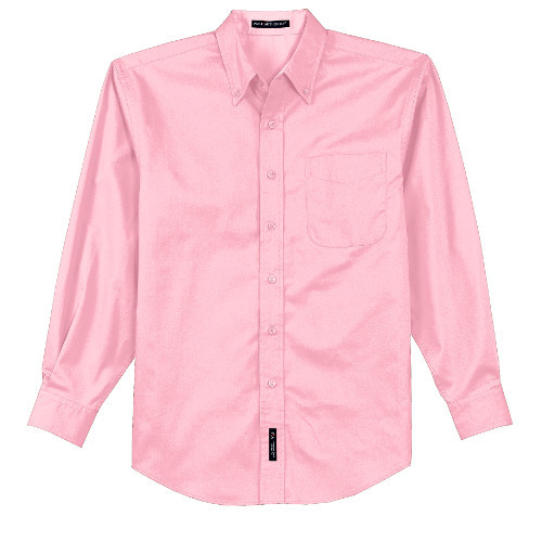 personalized Pink oxford button down ship for bridesmaids