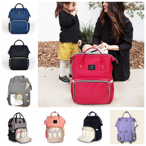 Monogrammed Backpack Diaperbags