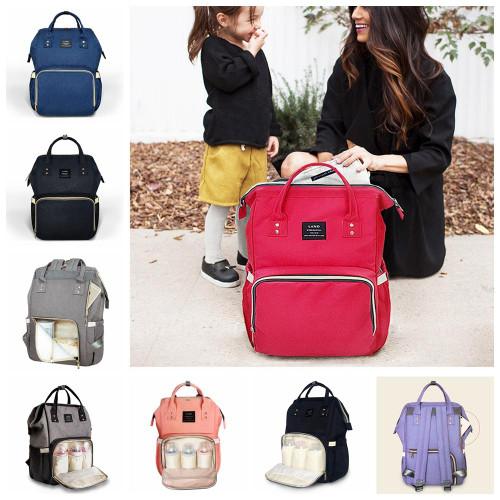 Monogrammed Backpack Diaperbags