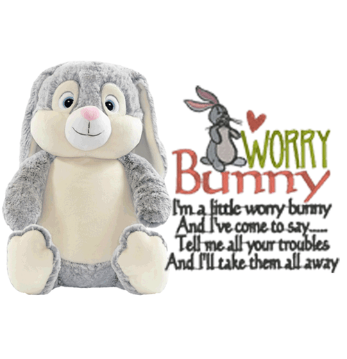 Worry Bunny for helping children deal with stress