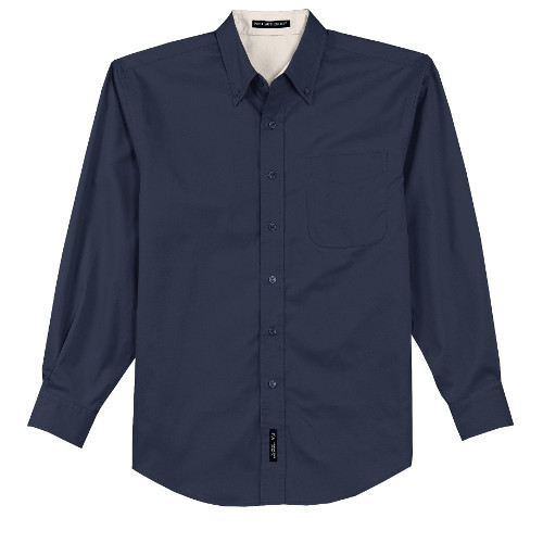 Monogrammed Button Down Oxford for Bridesmaid getting ready photos