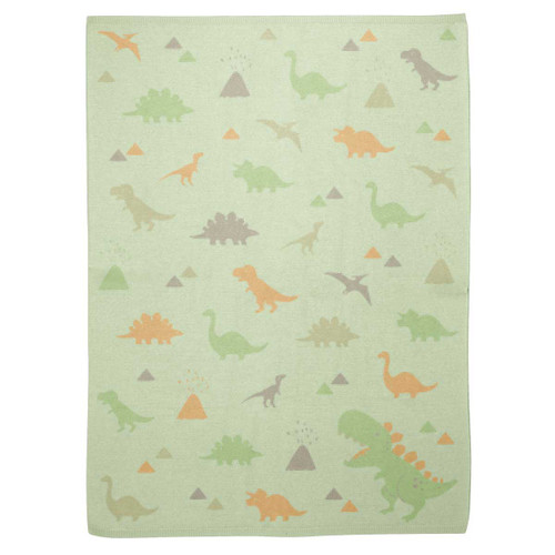 Dino Baby Knit Blanket by Stephen Joseph