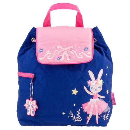 Bunny Backpack Quilted By Stephen Joseph Personalized