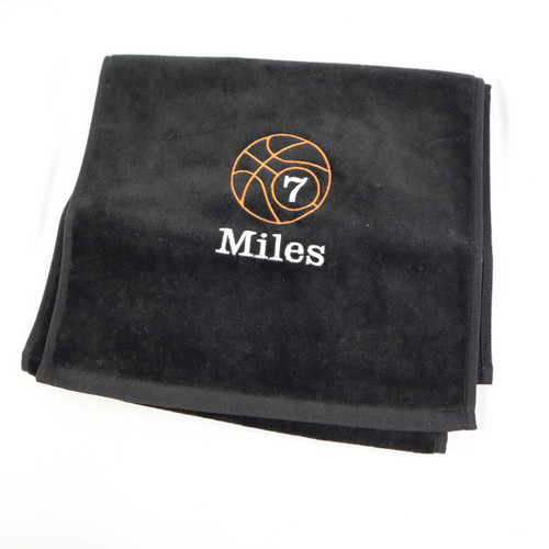 Basketball  towel embroidered sports towel for sweat