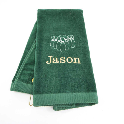 Personalized Sports towel for bowling