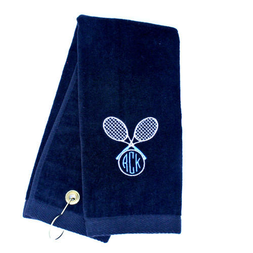 Embroidered Tennis Towel