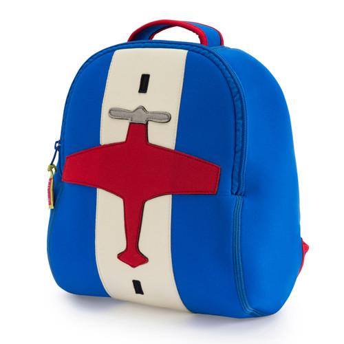 Dabbawalla Backpack Cleared for take of airplane design
