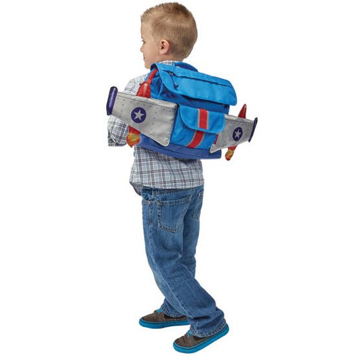 Bixbee Boys rocket backpack