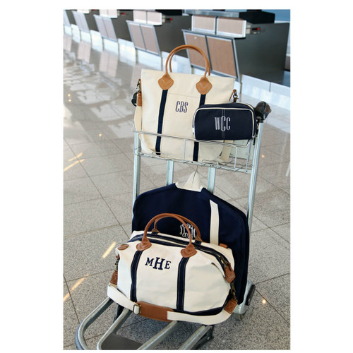 Monogrammed Weekend Heavy canvas Overnight Bag-Corporate gifts