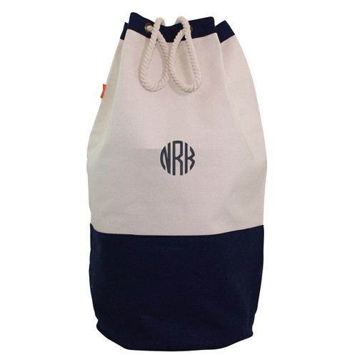 Navy Laundry Duffel-Corporate gifts