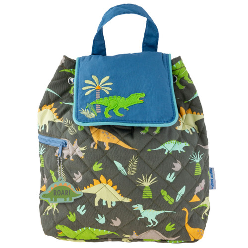All Over Print Dino Duffle Backpack  by Stephen Joseph  personalizing available