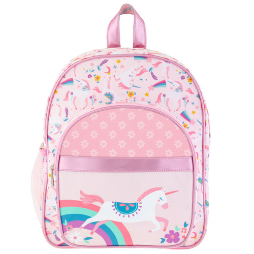 Toddler Pink Unicorn Backpack with pretty  Unicorn and Rainbow  design