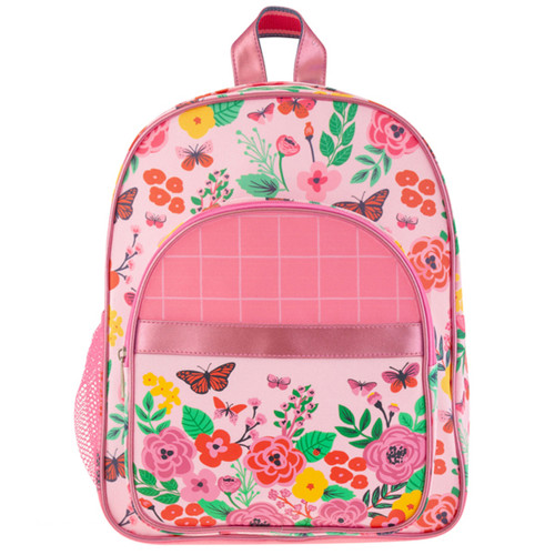 Butterfly deigned toddler backpack for ages 3-5. By Stephen Joseph