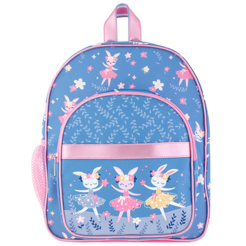 Classic Toddler Backpack by Stephen Joseph with cute little Ballerina Bunnies