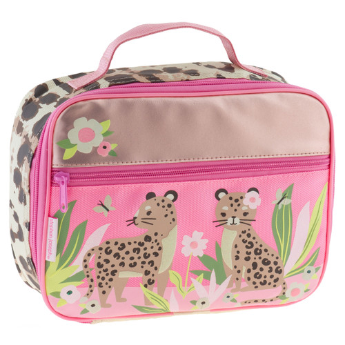 Leopard insulated lunchbox monogramming optional