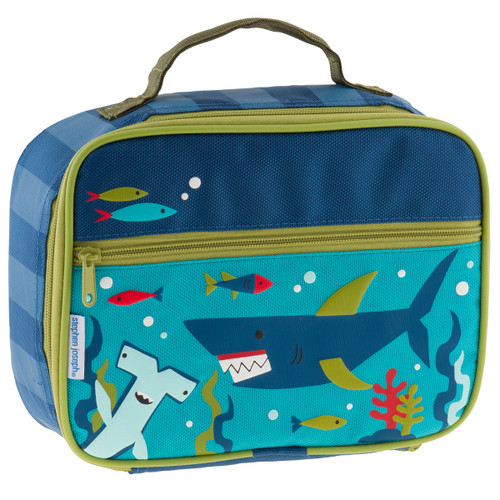 Shark Insulated  lunchbox  by Stephen Joseph  with personalizing optional