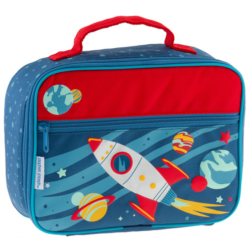 Insulated Space Lunch box with option to personalize by Stephen Joseph
