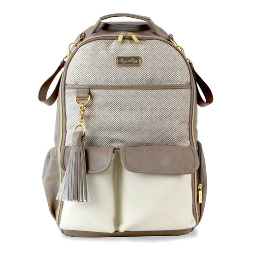 Itzy Ritzy Diaper Bag   in Vanilla Latte full size gender neutral