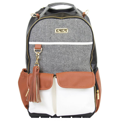 Itzy Ritzy Diaper Bag gender neutral diaper bags coffee  & cream