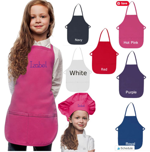 Children Aprons Personalized