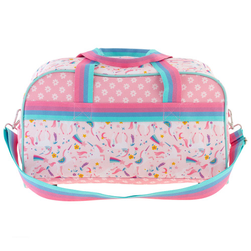 Monogrammed Duffle Bags for kids  by Stephen Joseph, Pink Unicorn Design