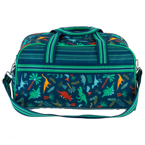 Boys Personalized Duffle Bag for kids by Stephen Joseph with Dinosaurs