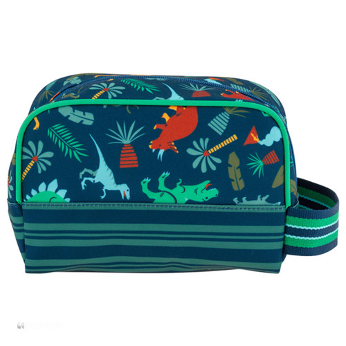 Dinosaur  Toiletry for kids personalizing  available by Stephen Joseph