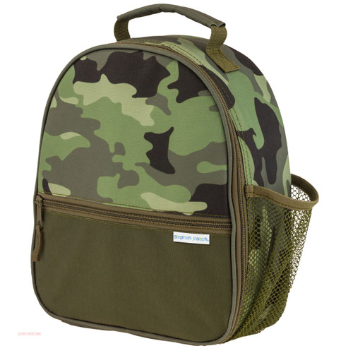 Personalized Camo Lunch Box for Kids  by Stephen Joseph
