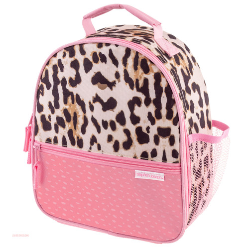 Stephen Joseph Allover Leopard Print Girl's Lunch Boxes Personalized