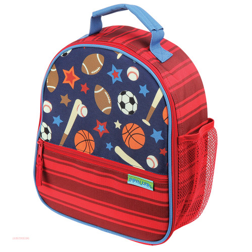 Stephen Joseph Sports Print Lunch Boxes Personalized
