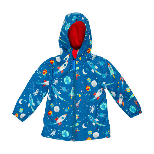 Space Rain coat by Stephen Joseph for Little Boys
