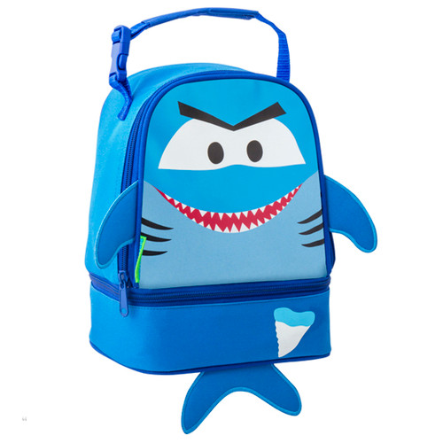 Stephen Joseph Shark Lunch Bag for Kids can be personalized