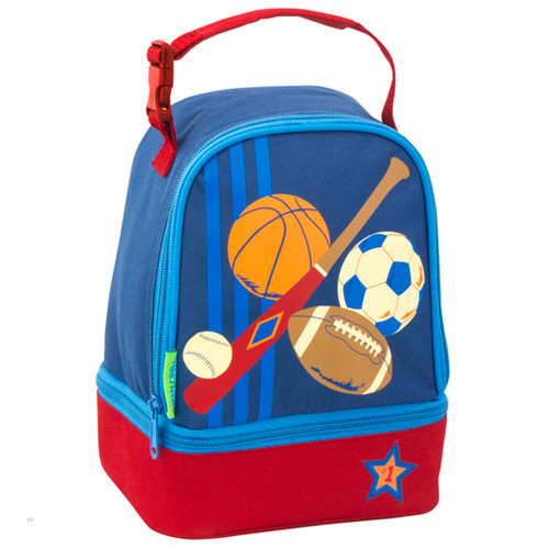 Personalized Kids Lunch Bag by Stephen Joseph - Sports