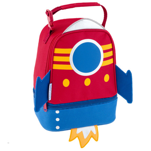 Stephen Joseph Rocket Ship Lunch Bag Personalized