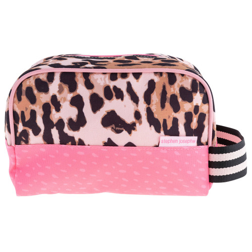 Toiletry Bag for kids Leopard Print