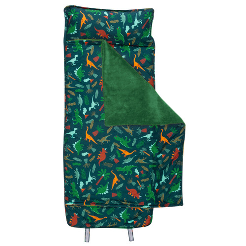 Child Nap Mat and Pillow Monogrammed- Dinosaur Design