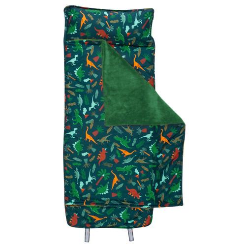 Child Nap Mat and Pillow Monogrammed- Dinosaur Design