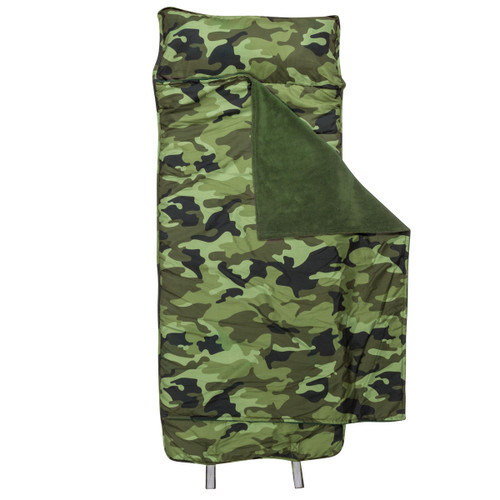 Nap Mat and Pillow in a Camo Print