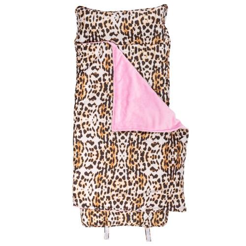 Girls Nap Mat with fun Leopard Print