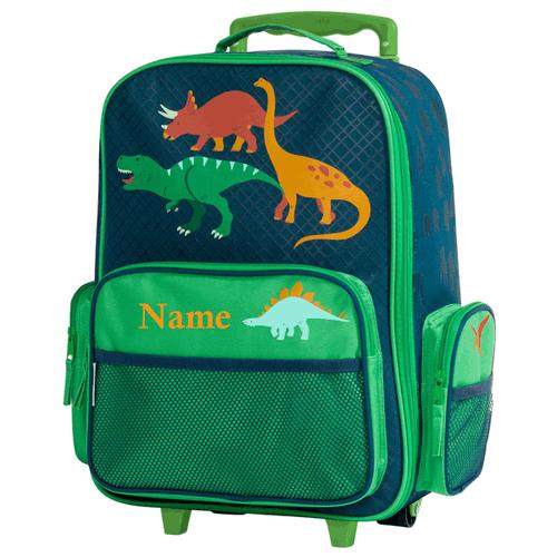 Dinosaur Personalized kids rolling Luggage